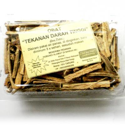 Traditional Medicine from Kalimantan for Treatment of High Blood Pressure