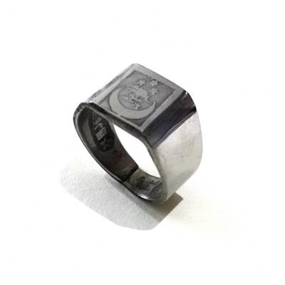 Indonesian Talismanic Ring Engraved with Arabic Formulas to Increase Power and Authority
